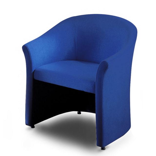 poltroncina Aron per sala d'attesa comoda e di design con piedini
