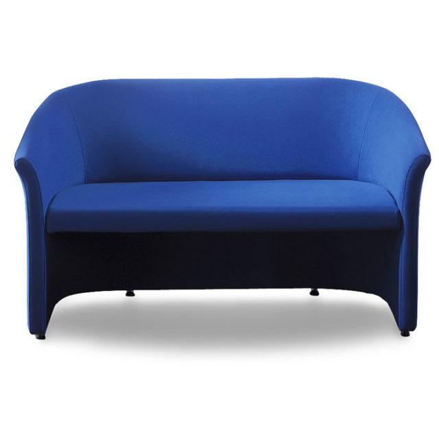 divano design per sale d'attesa con piedini