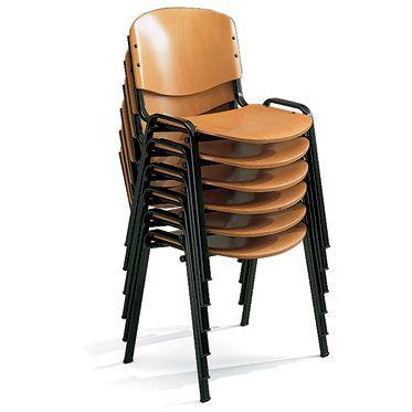 sedie per sale conferenze impilabili