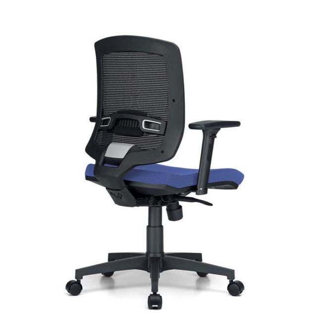 sedia ufficio con ruote e schienale regolabile