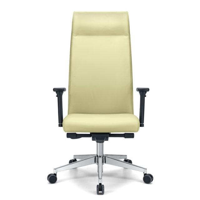 sedia presidenziale con schienale alto e regolabile