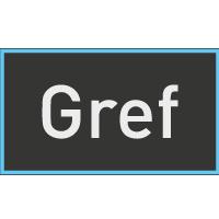 Logo Gref sedie antistatiche Grendene