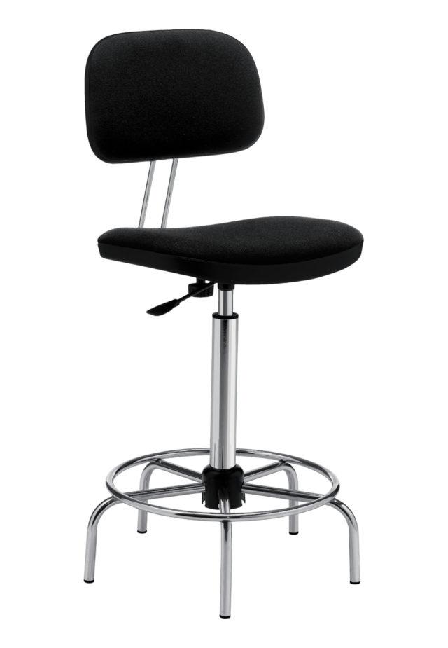 Sgabelli e sedie da lavoro e da laboratorio for Sgabelli da ufficio regolabili