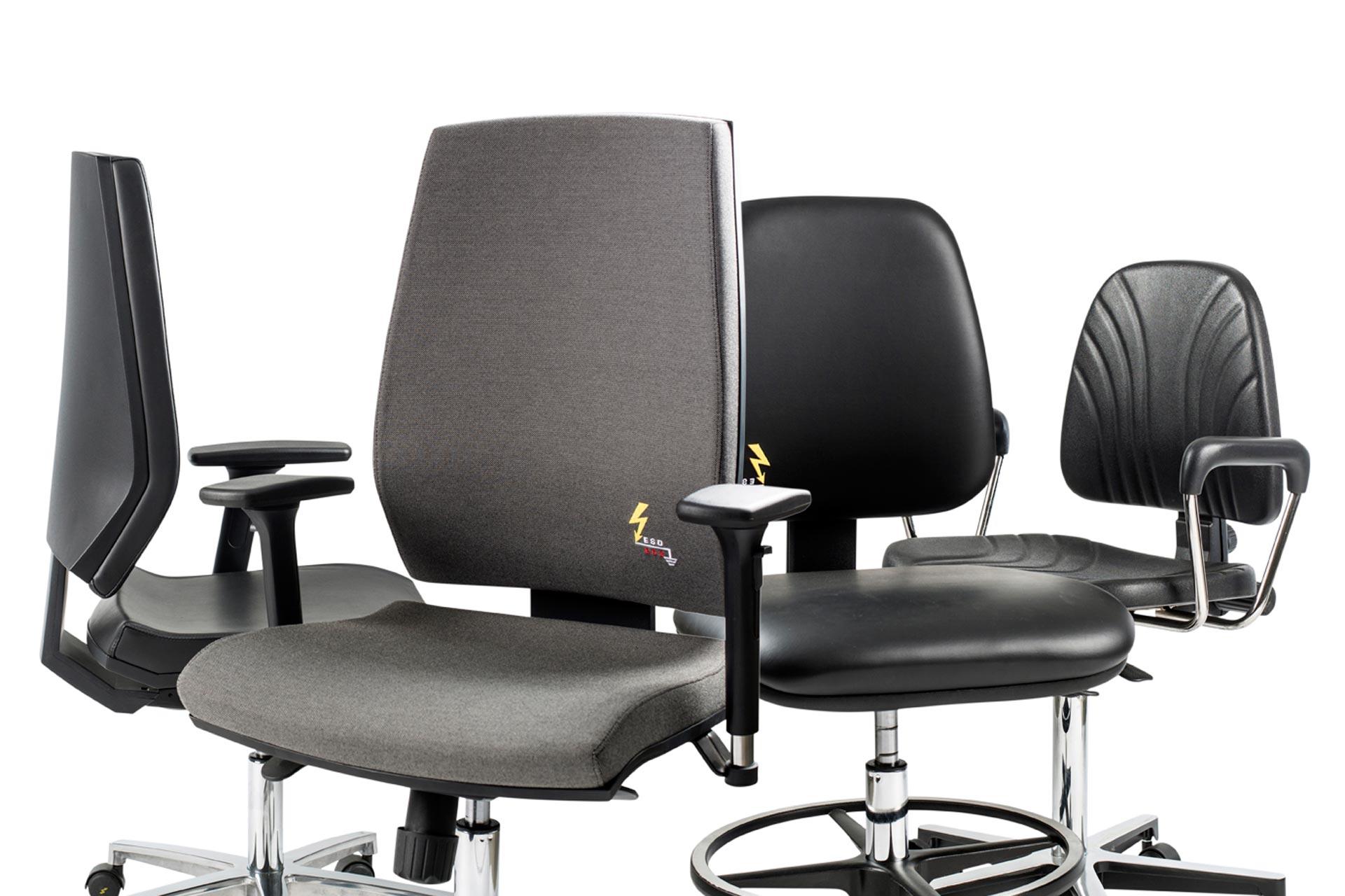 Sedie da ufficio: comode, eleganti, durevoli