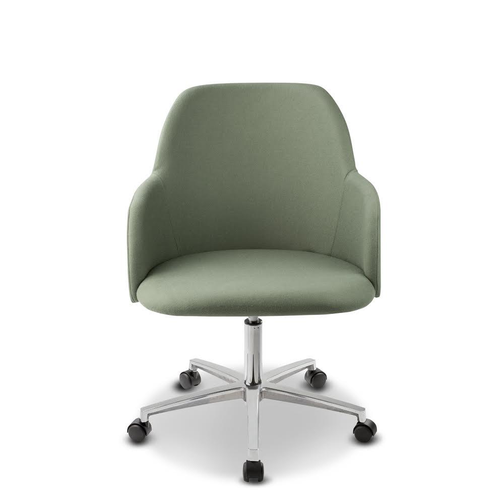 Élite 10 armchair with castors