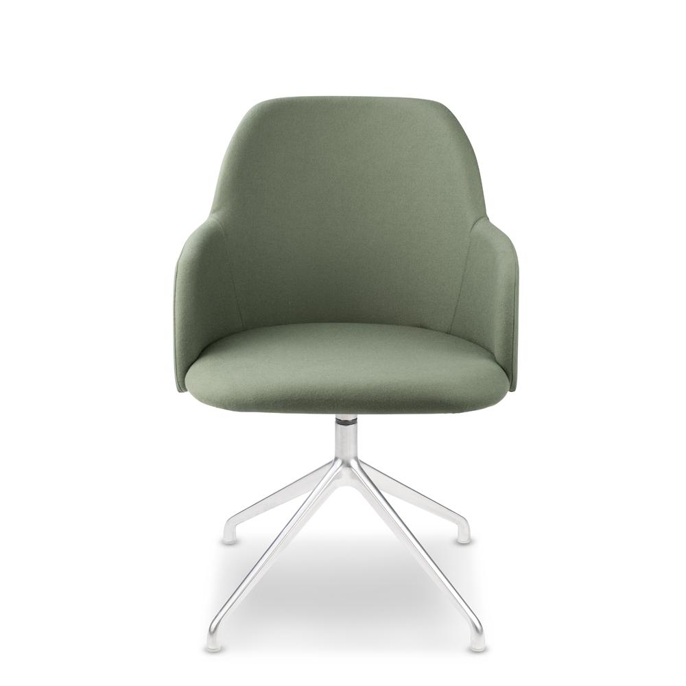 Élite 30 waiting chair with pyramidal base