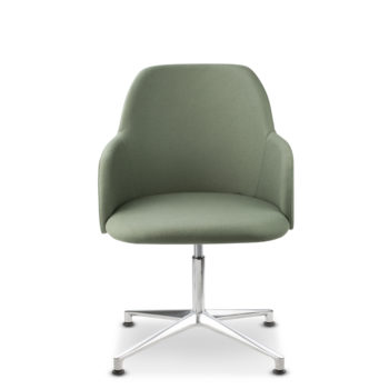 Élite 40 four-spoke base chair