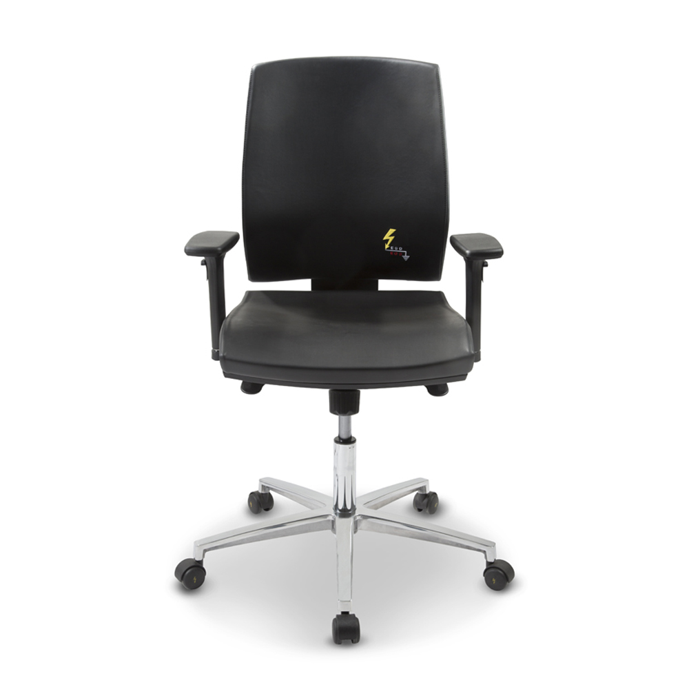 Gref 262 - Eco-leather antistatic swivel chair
