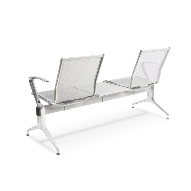 King - Metal bench seats with armrests