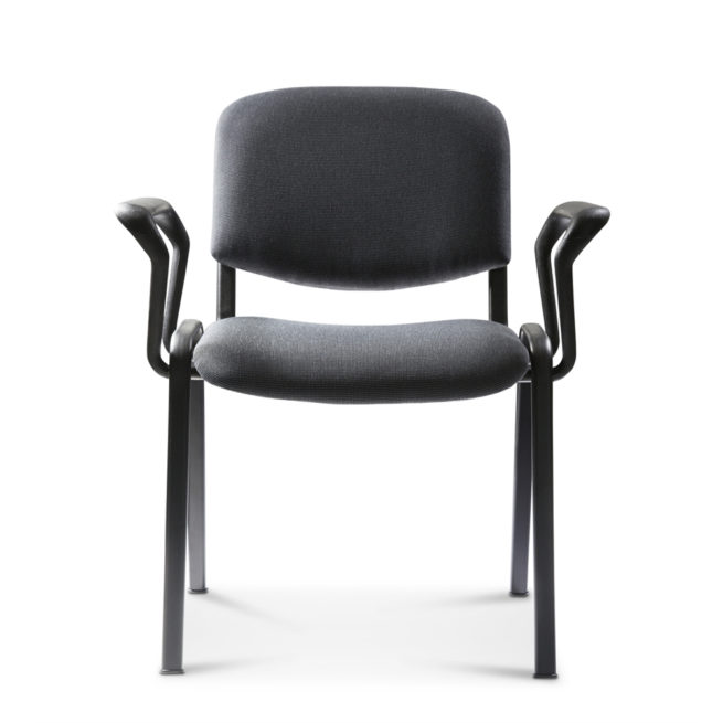 Koinè 410 - Chair for public institutions with armrests