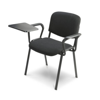 Koinè 420 chair with writing tablet