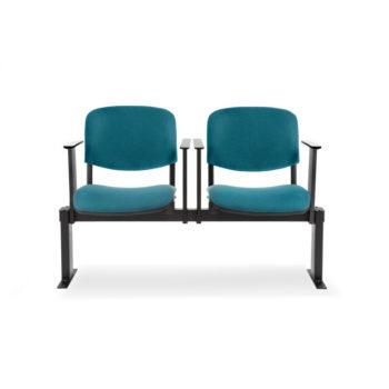 Koinè 450R - Sedie su barra con sedili ribaltabili e braccioli