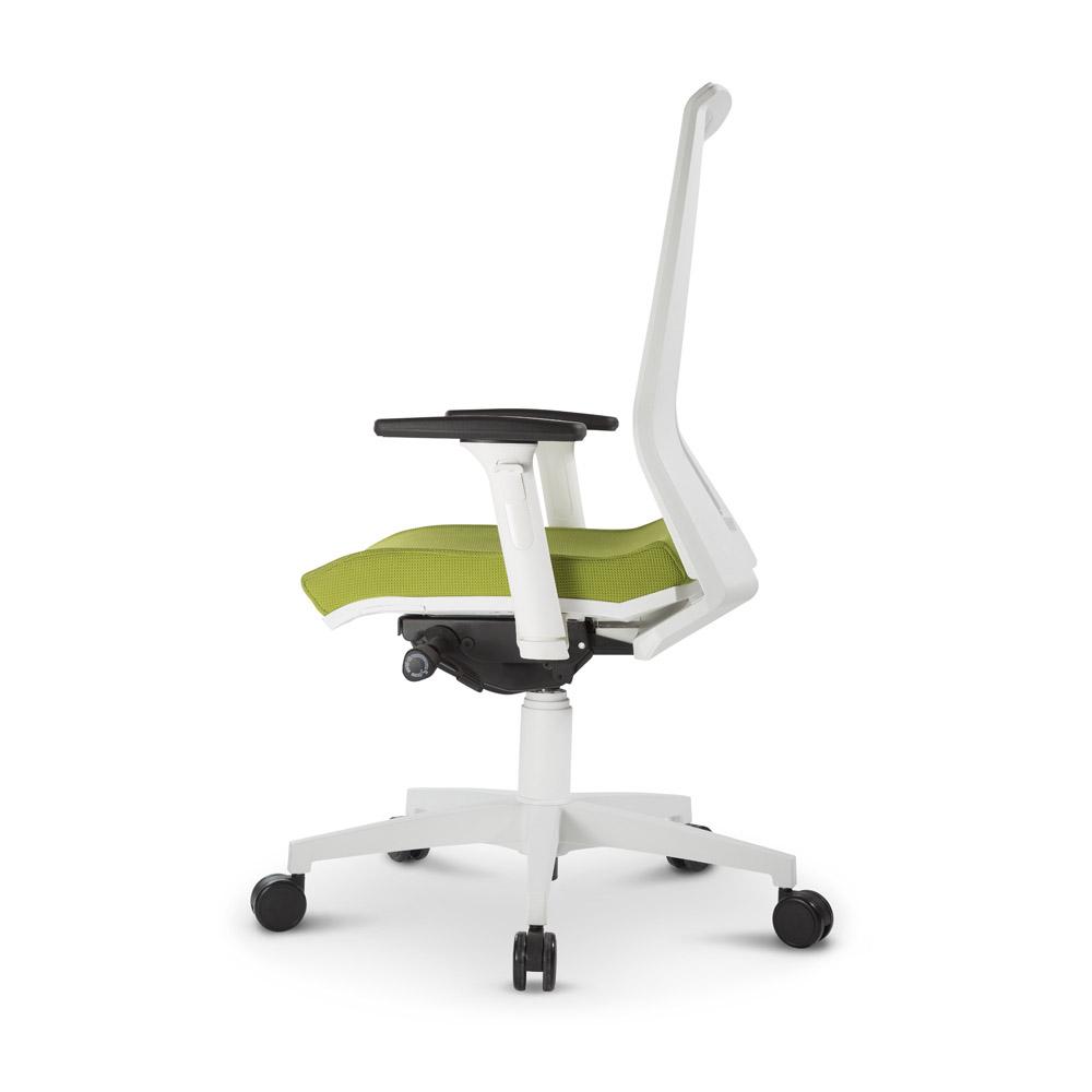 Poltroncina ergonomica per ufficio mod like 700 grendene - Rivestire sedia da ufficio ...
