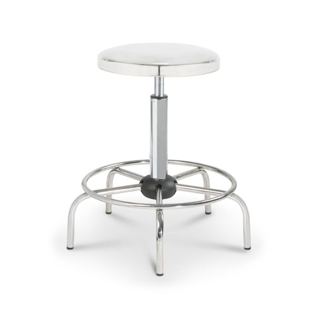 Mod. 1108 - Technical stool with steel seat