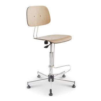 Mod. 1215 - Sgabello ergonomico da lavoro