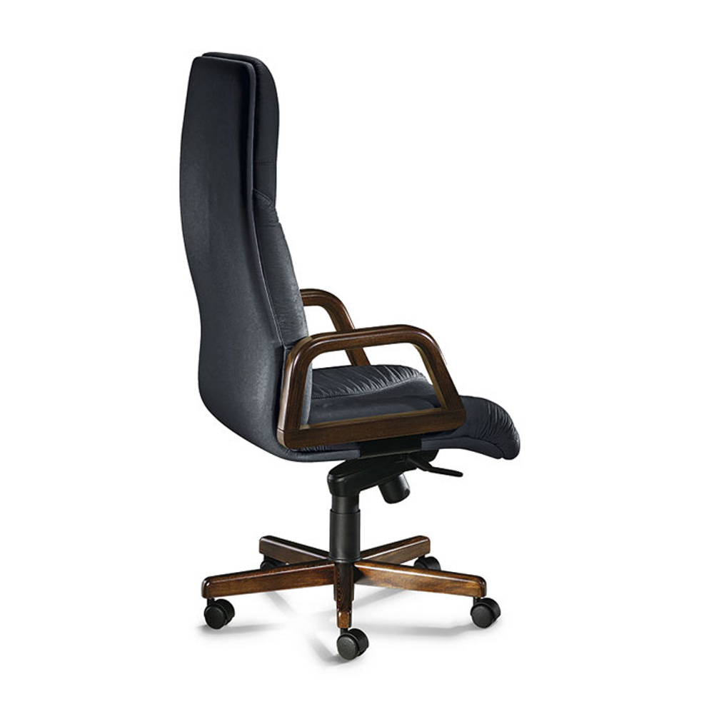 president office chair. President 4000L Office Chair - Side View S