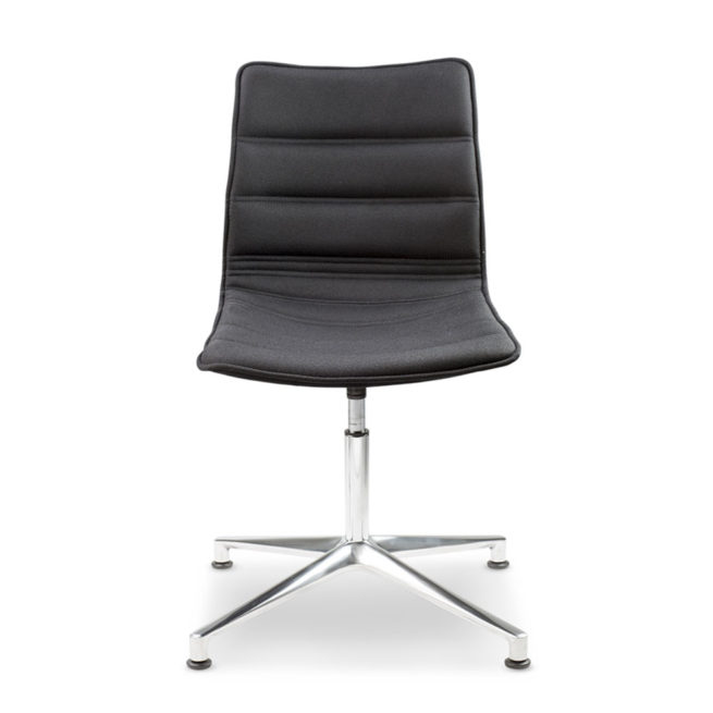 Sally 930 - Waiting chair with 4-star base
