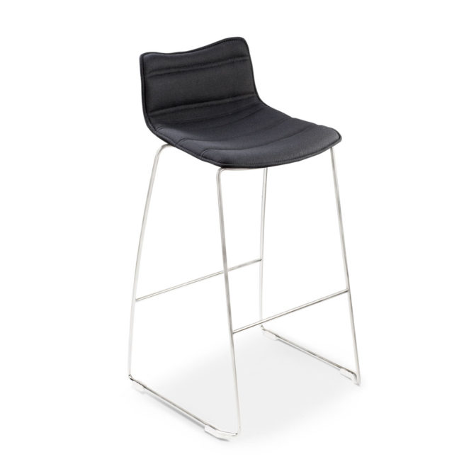 Sally 950 - Fixed stool with footrest