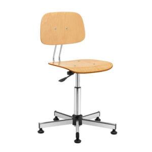 Swivel office chair mod. 1100 beech