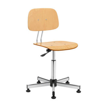 Swivel office chair mod. 1100 beech