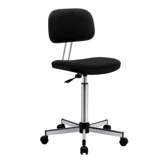 Swivel office chair mod. 1100 upholstered