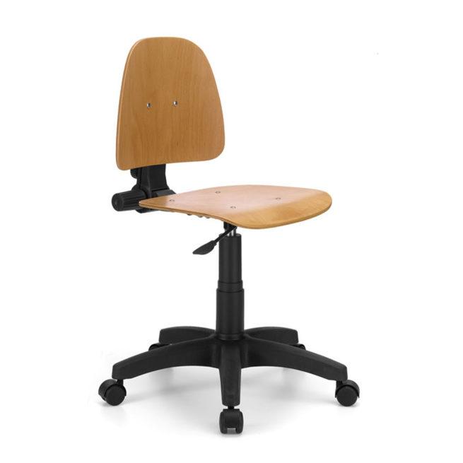 Sedia da ufficio girevole mod. 127