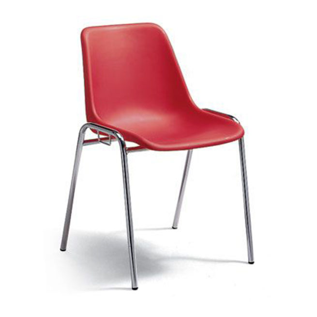 Basic 266 polypropylene fixed chair