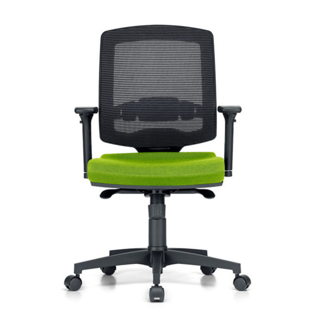 Omega 600 office chair front view