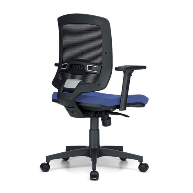 Omega 600 office chair back view