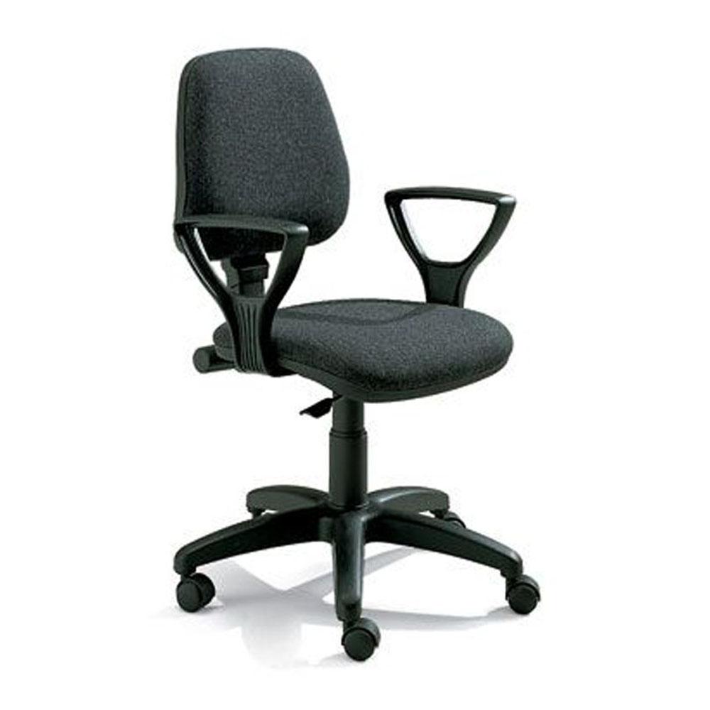 Sedia per ufficio regolabile serie praga 160 grendene for Sedia ortopedica per ufficio