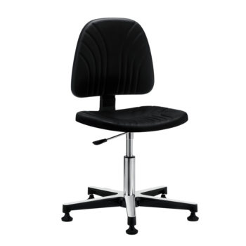 Gref 238 - Antistatic swivel chair in integral polyurethane, with glides.