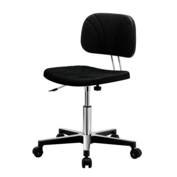 Gref 231 - Swivel antistatic work chair in polyurethane, with castors.