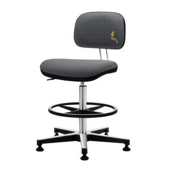 Gref 239 - Swivel antistatic stool