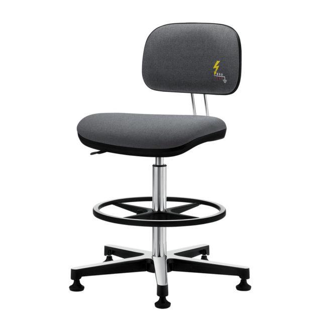 Gref 239 - Swivel antistatic stool